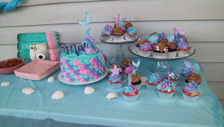 mermaidparty-cupcakes