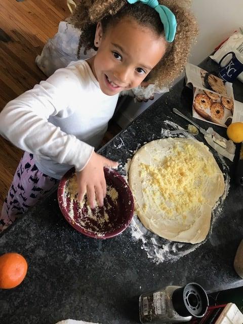 Mae-helping-bake-rolls
