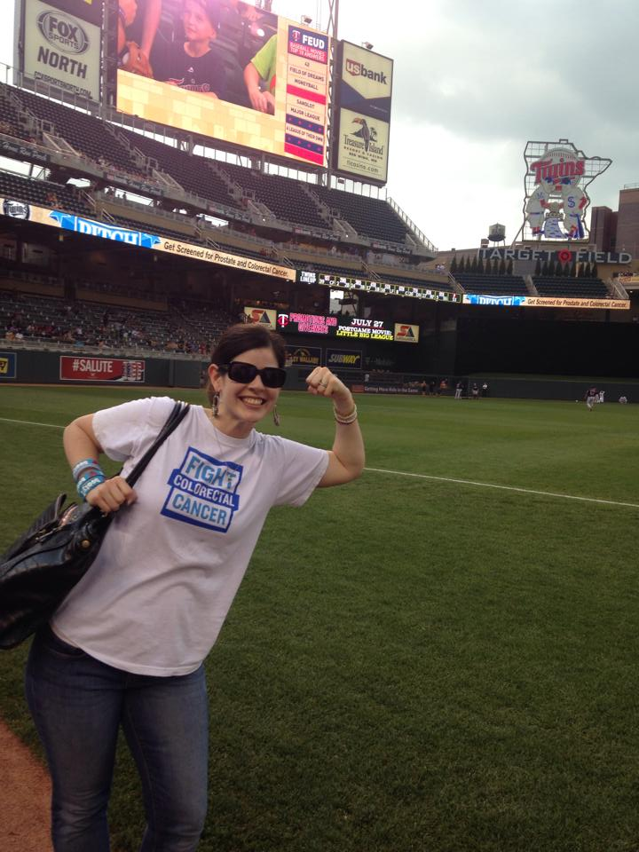 danielle-target-field-colon-cancer-awareness-event