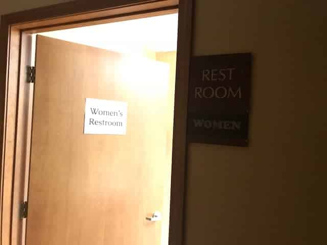 ladies-restroom-door-williamsburg-ks