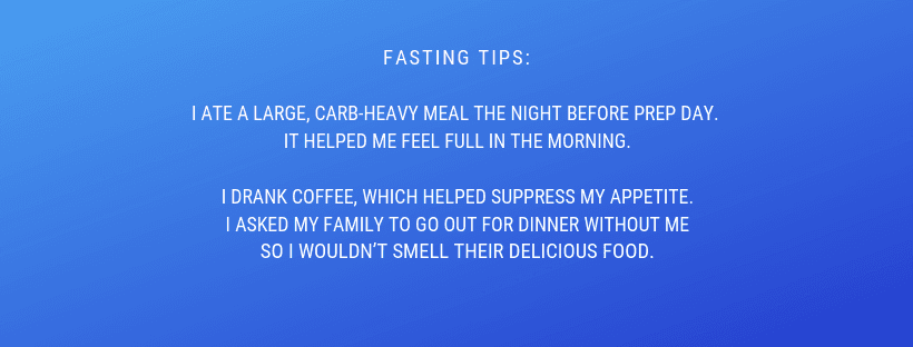 fasting-for-colonoscopy-tips