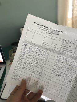 bowel-diary-worksheet