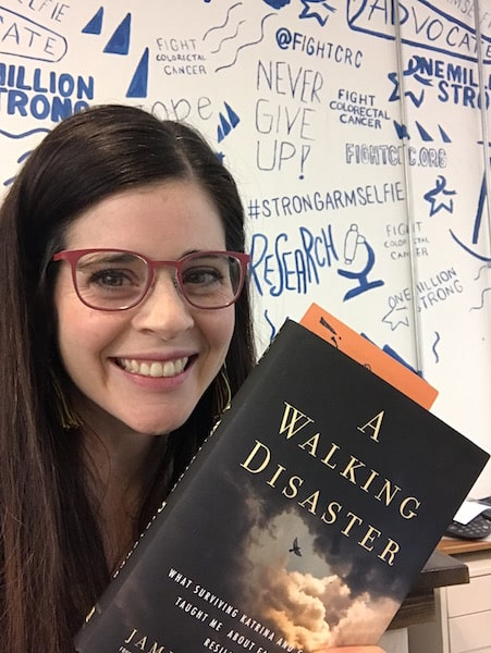 a-walking-disaster-cancer-memoir-book-blogger-review