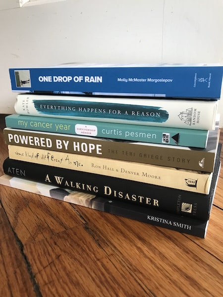 stack-of-colon-cancer-books-survivor-stories