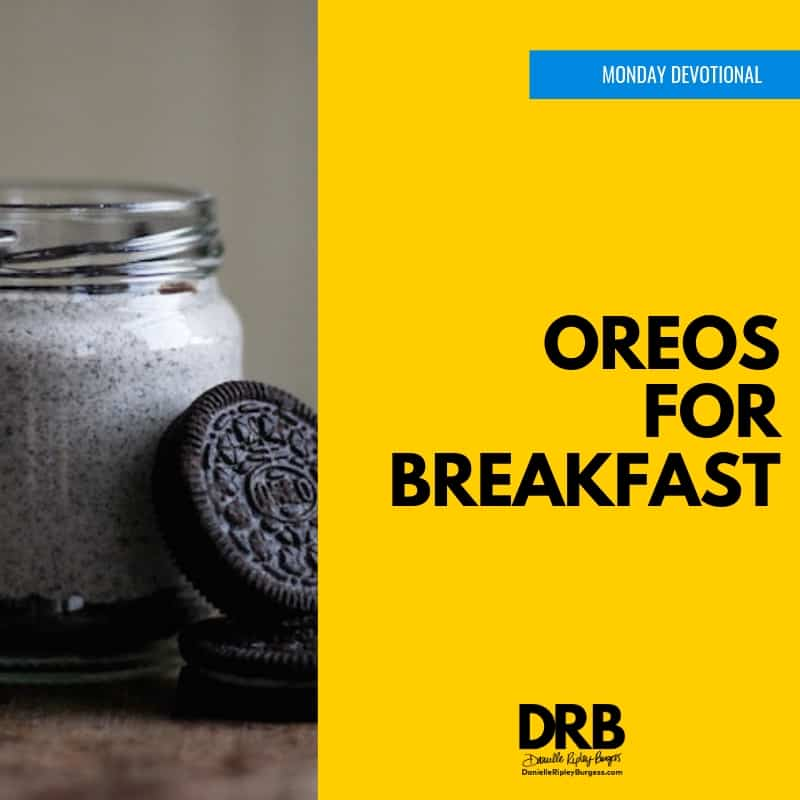 Devo Image - Oreos for Breakfast