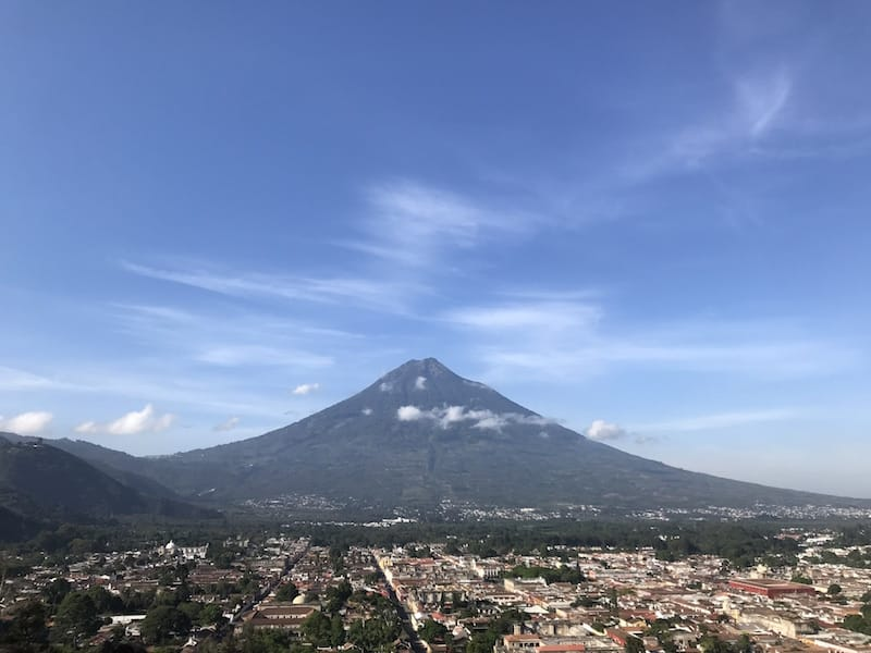 antigua guatemala mountain