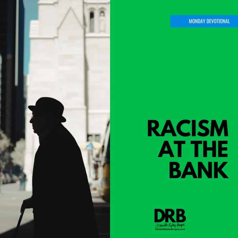 Devo Image - racism at the bank