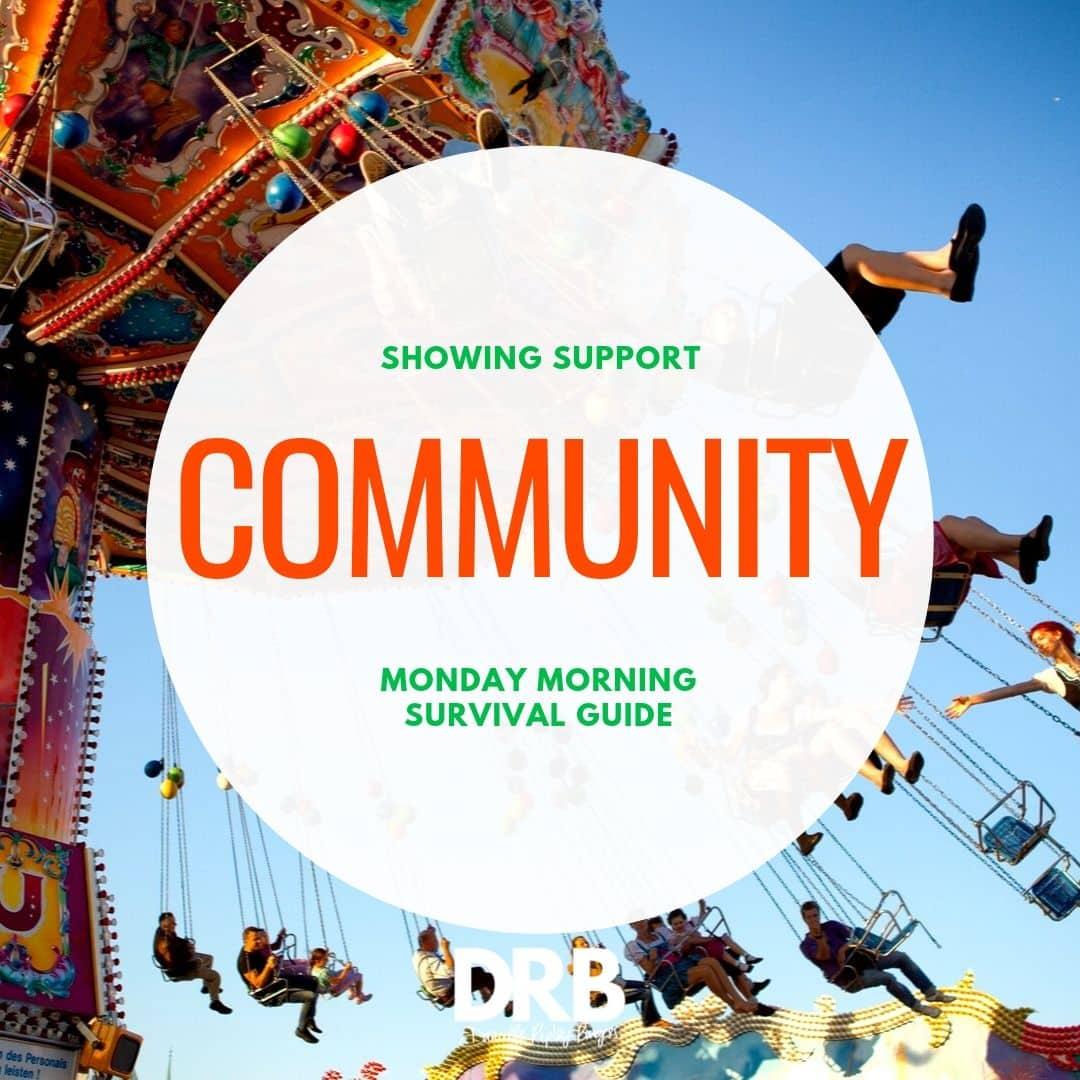 community swing carousel