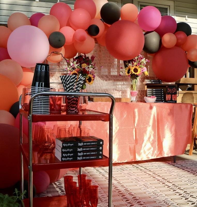 blush-drink-cart-virtual-launch-party-idea