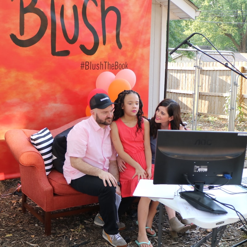 burgess-fam-blush-virtual-launch-party